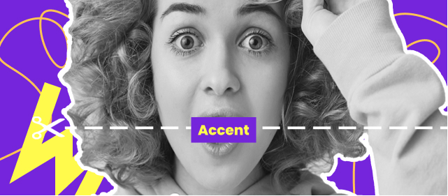 Как убрать акцент